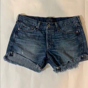 Lucky Brand  The Boyfriend Shorts